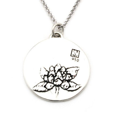 Lotus Necklace (Self-confidence)-D12 - Kevin N Anna