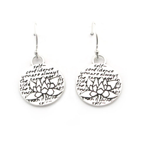 Ladybug Earrings (Presence)-D107E