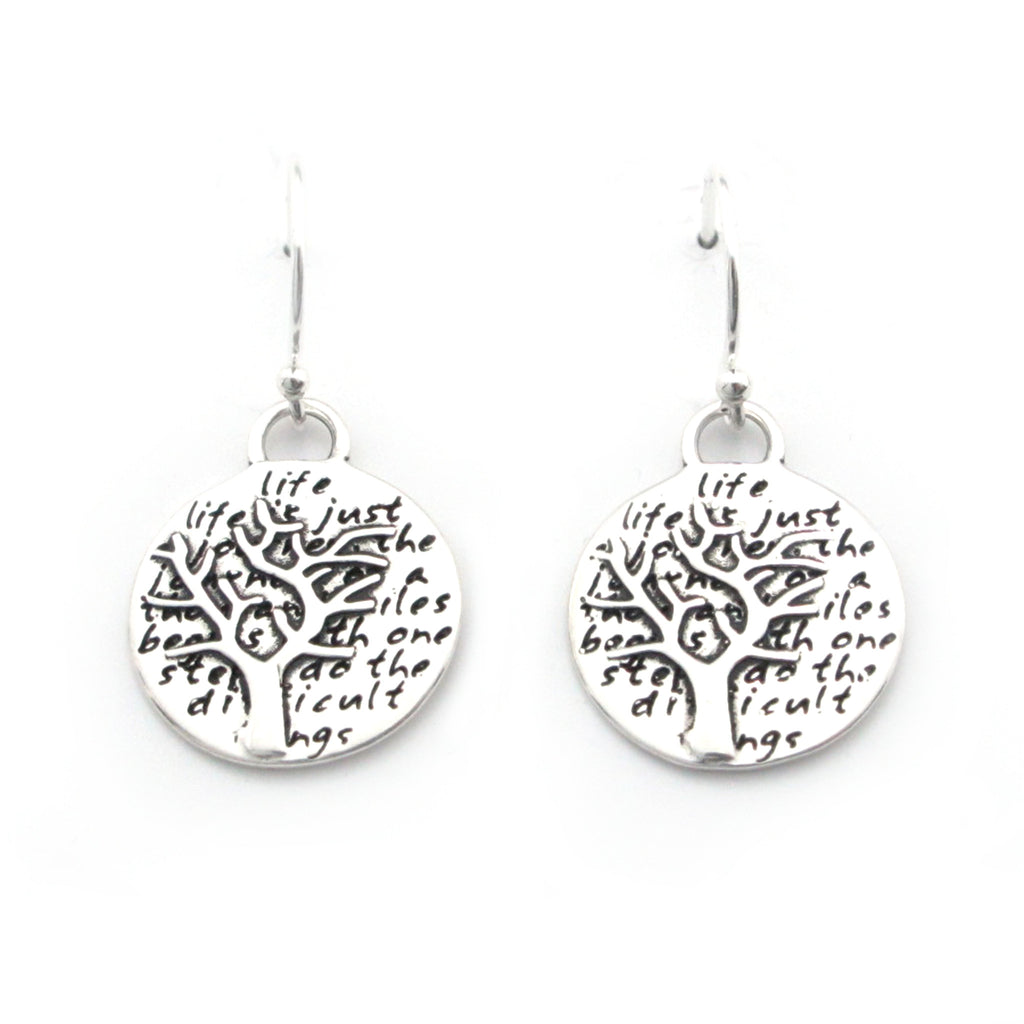 Tree Earrings (Life)-D99E - Kevin N Anna