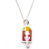 Cat Necklace-T9902 - Kevin N Anna