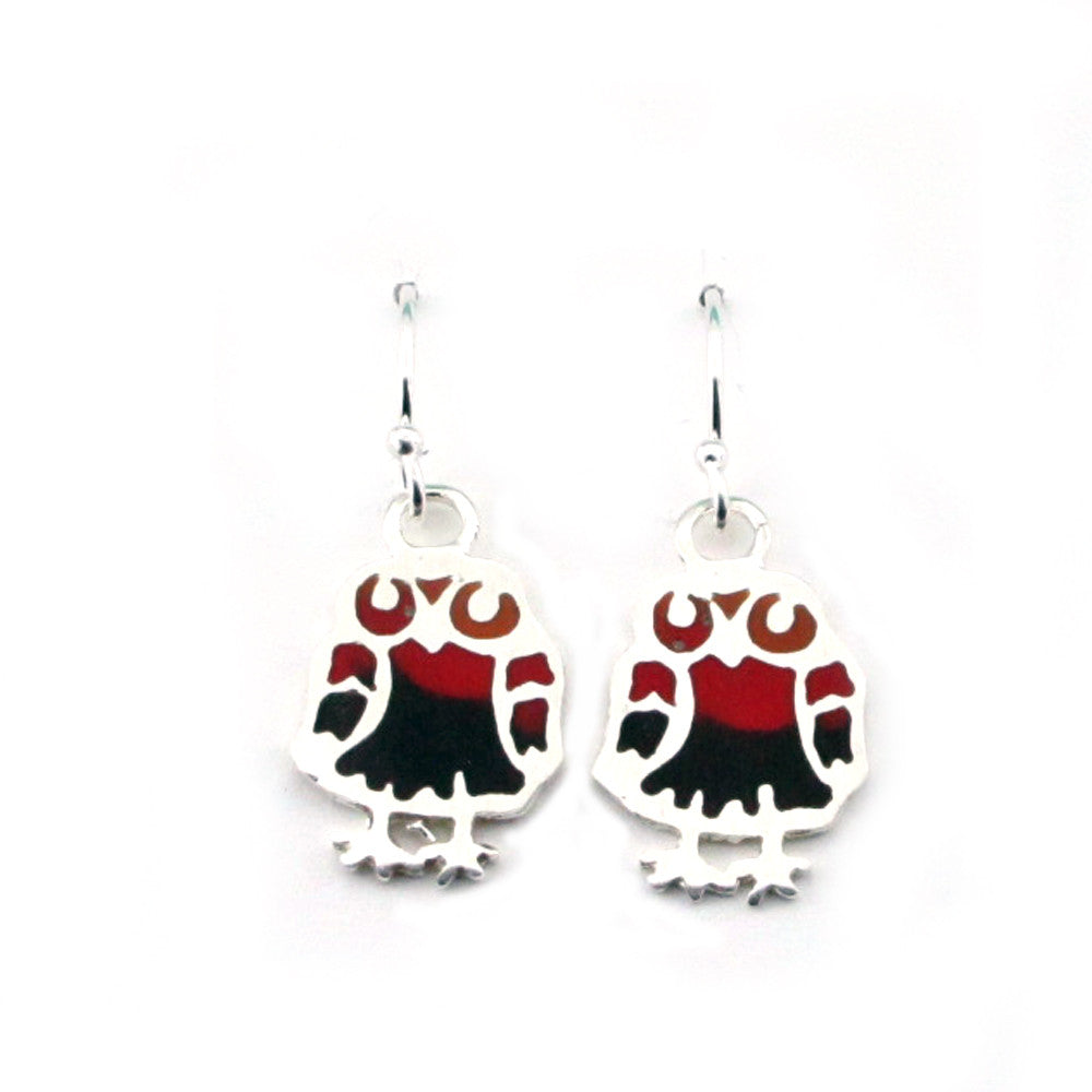 Owl Earrings-T8855E - Kevin N Anna