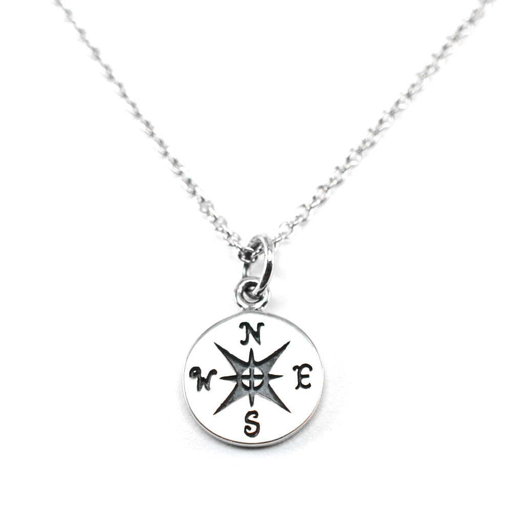 Compass Necklace-C09 - Kevin N Anna