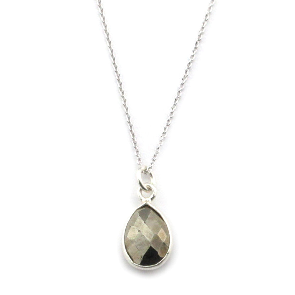 Pyrite Necklace-15082 - Kevin N Anna