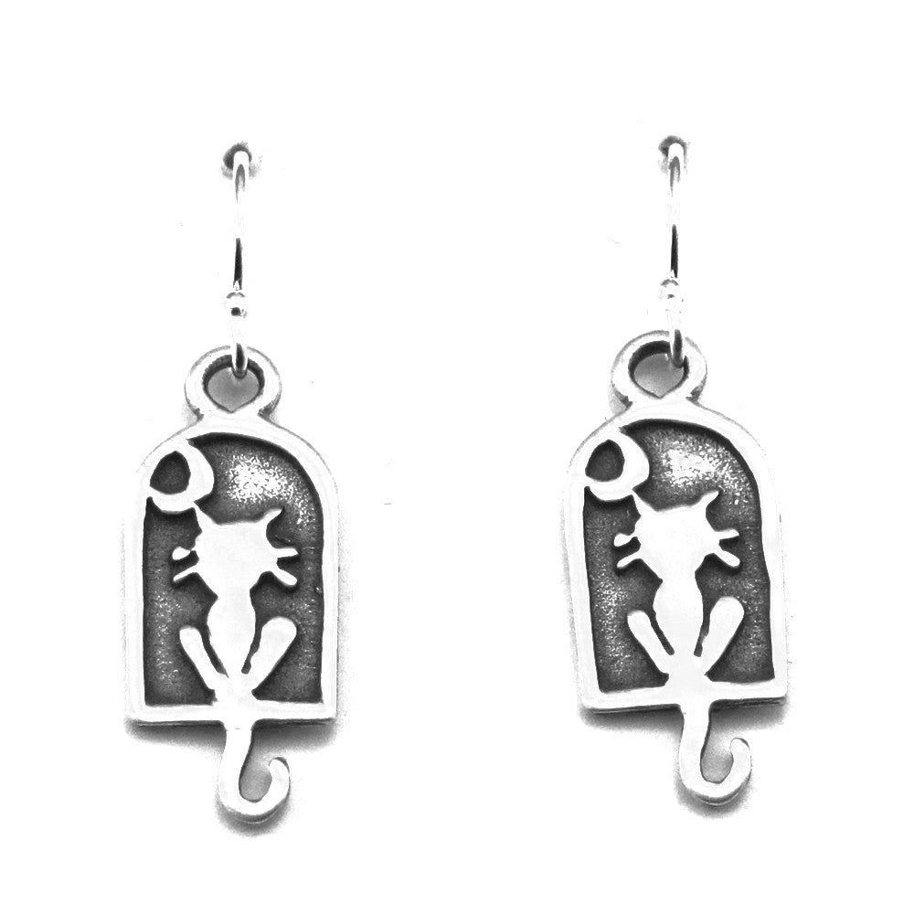 Cat Earrings-S9902E