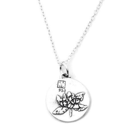 Lotus Necklace (Self-confidence)-D12SM - Kevin N Anna