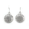 Spiral Earrings (Courage)-D09E - Kevin N Anna