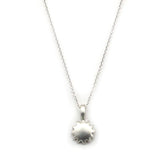 Sterling Silver Sun Necklace - Kevin N Anna