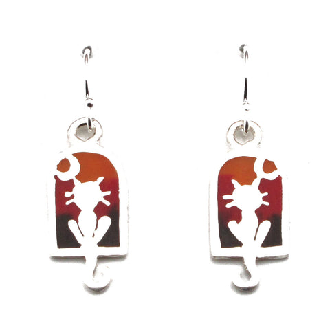 Tree Earrings (Tree of Life)-D41E