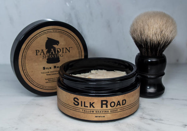 Silk Road™ Tallow Shaving Soap