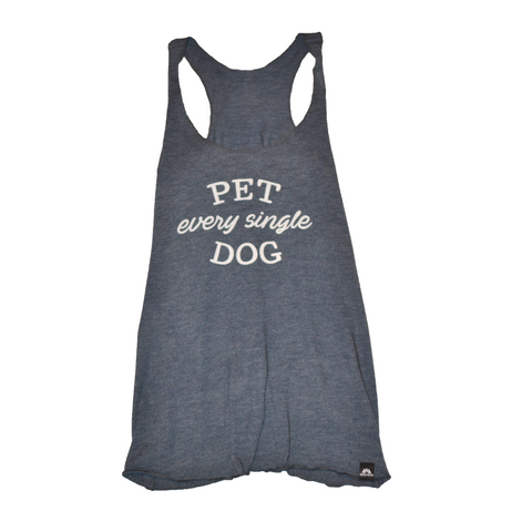 "World Awear ""Pet Every Single Dog"" Tank"