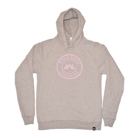 Global Women's Hoodie - Grey