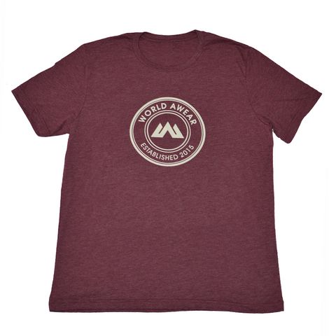 Global Tee - Maroon