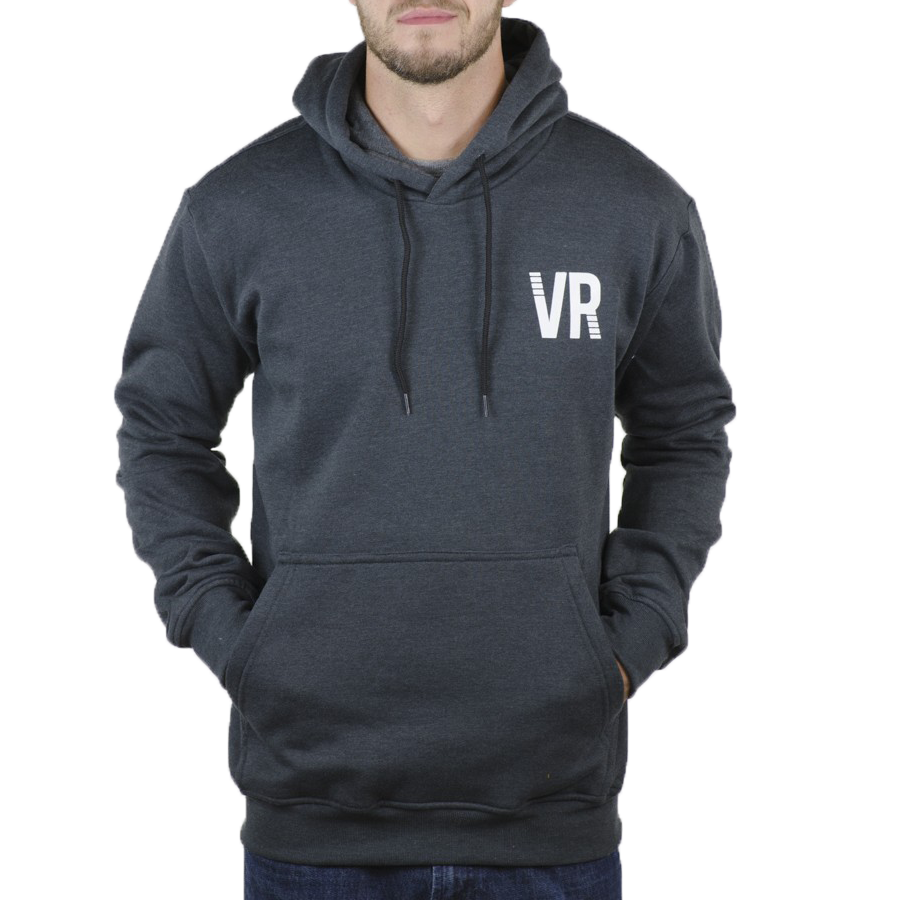 Vooray Splitter Hoodie - Heather Black