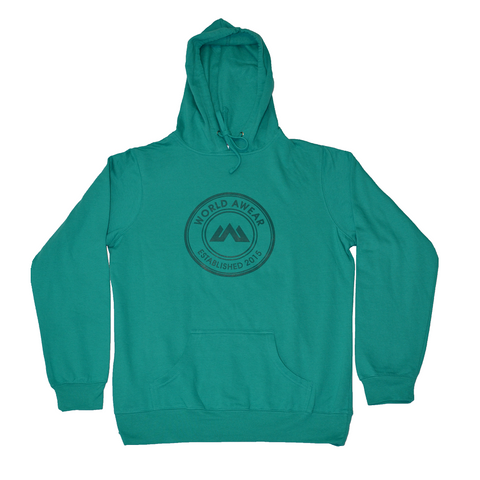 Global Women's Hoodie - Teal