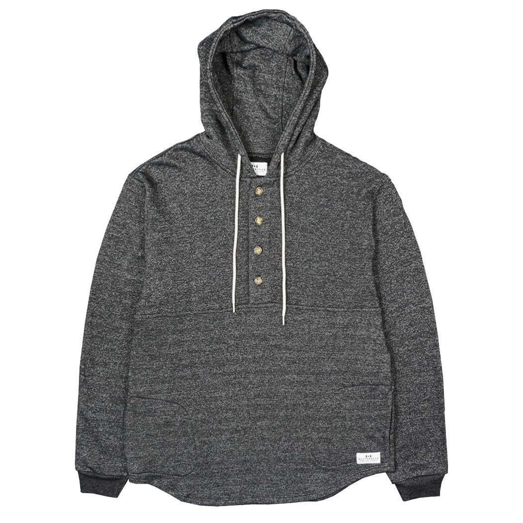 Muttonhead Camping Hoodie - Heather Charcoal