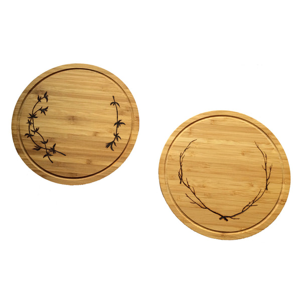 Small Round Cutting Boards