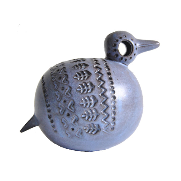 Bitossi Purple Bird Italian Pottery in Zingo Decor