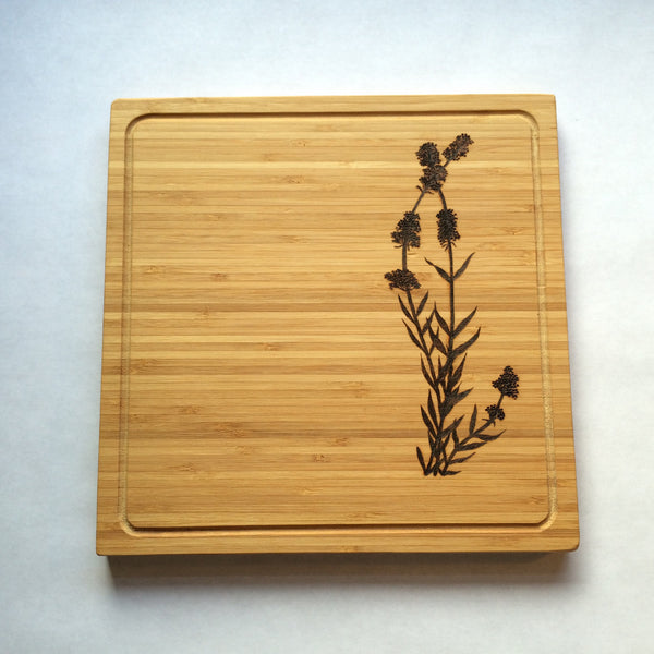 Lavandula Cutting Board