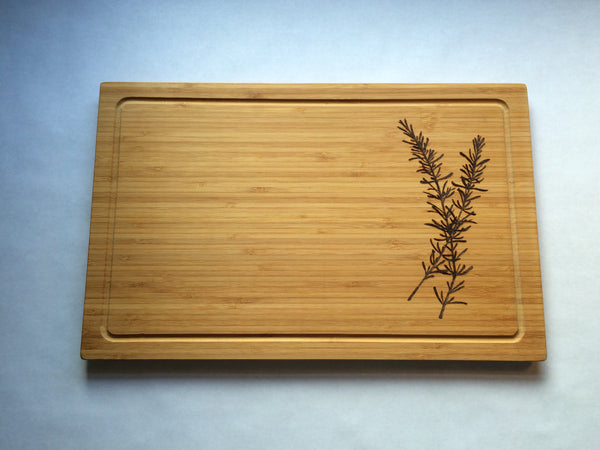 Rosemary Cutting Board