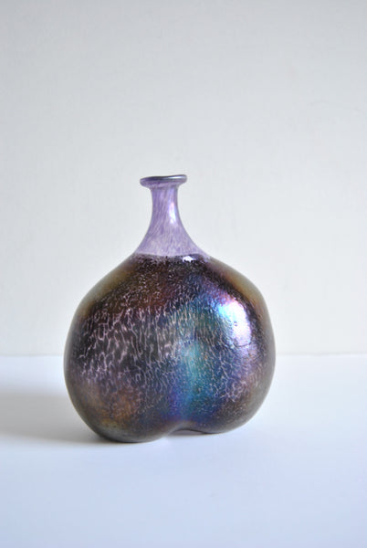 Kosta Boda Bertil Vallien 48137 Artist Collection Purple Volcano Vase