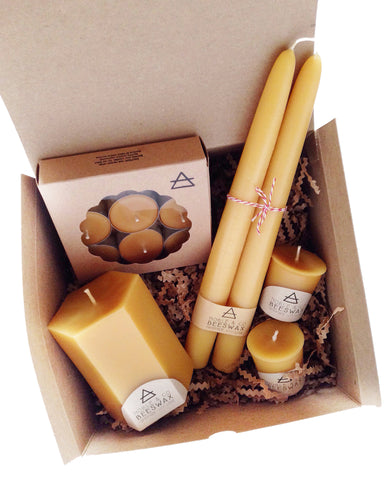 Beeswax Candle Box #1
