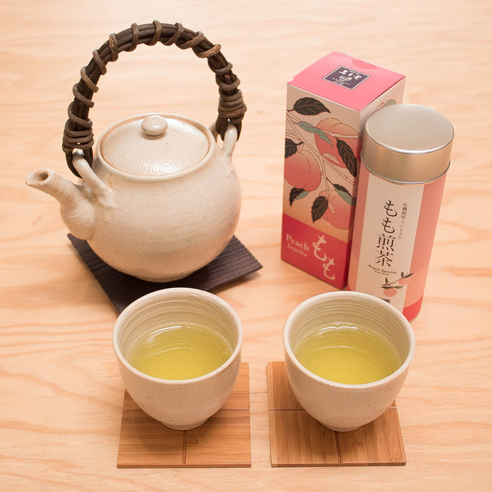 New Item: Limited Edition Organic Peach Sencha with Mint
