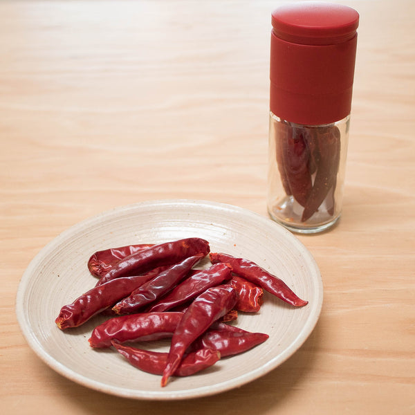New Item: Ceramic Red Pepper Mill