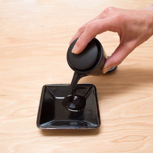 Shikika Soy Sauce Dispenser and Saucer Set