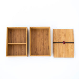 Kyoto Bamboo Bento Box (Rectangular)