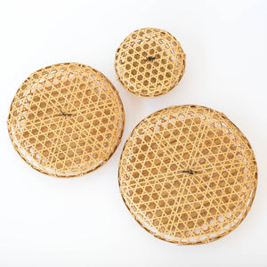 Mutsume Round Basket with Lid