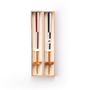 Bamboo Chopsticks and Rest Set