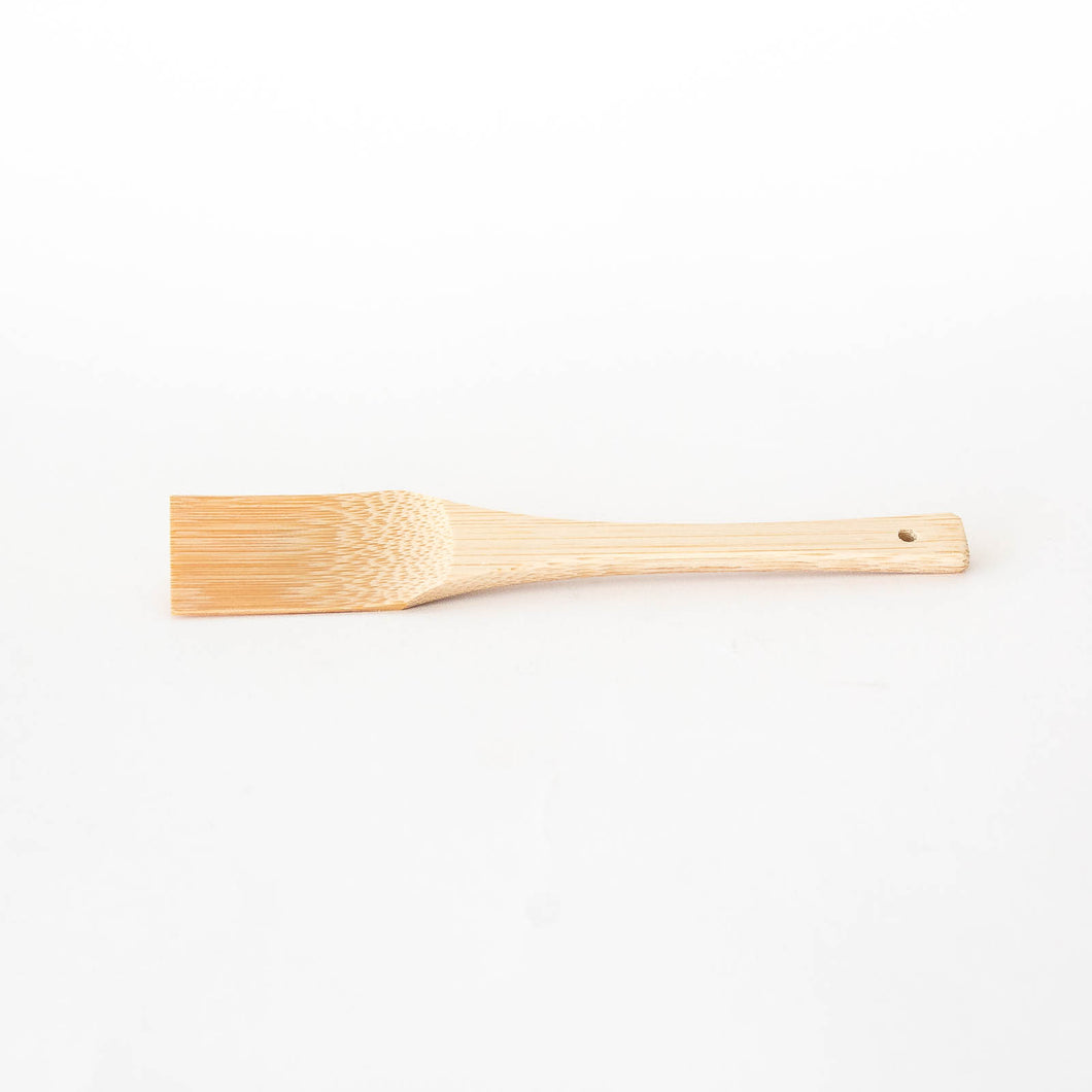 Fine Teeth Bamboo Scraper