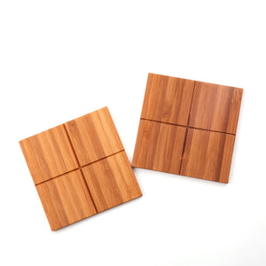 Kyoto Bamboo Coasters (2-set)