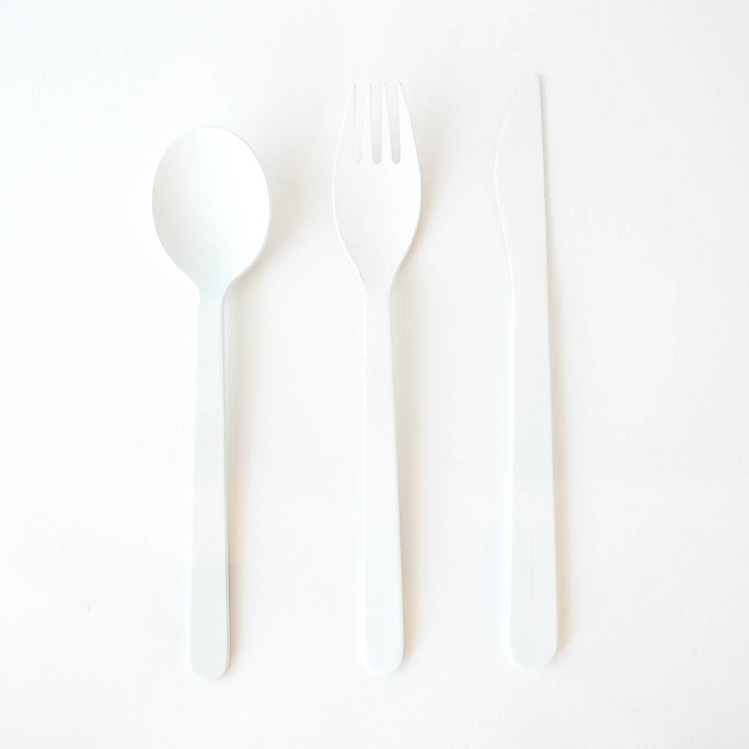 WHITE & BLACK Flatware (3-Piece Set)