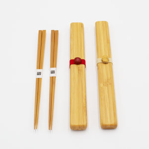 Bamboo Chopsticks with Case