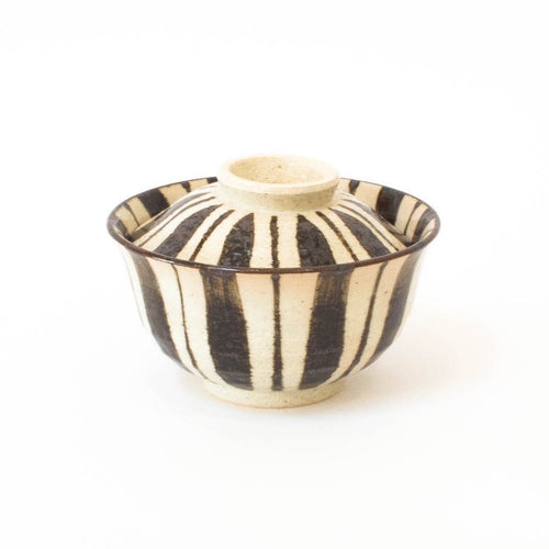 Tokusa Small Donburi Bowl with Lid