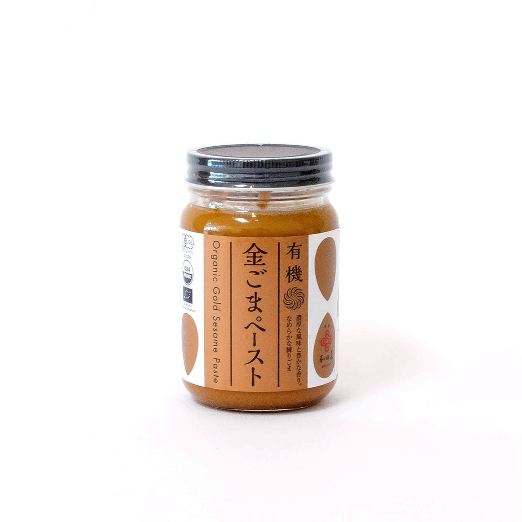Organic Golden Sesame Paste by Wadaman