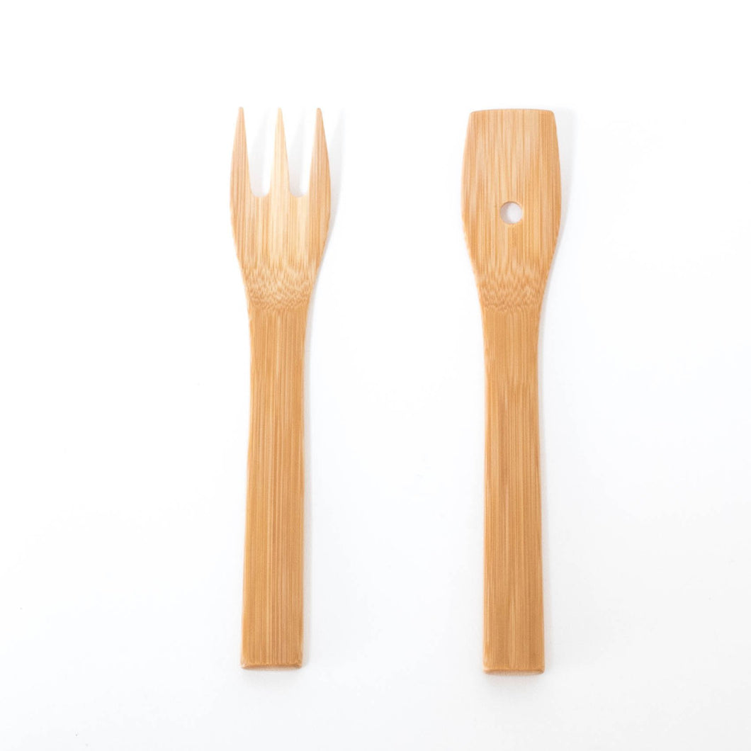 Bamboo Salad & Side Dish Server by Kai Nobuo Kobo