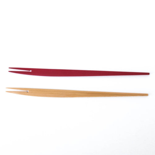 Bamboo Fish-Design Dessert Fork (Long) by Kai Nobuo Kobo