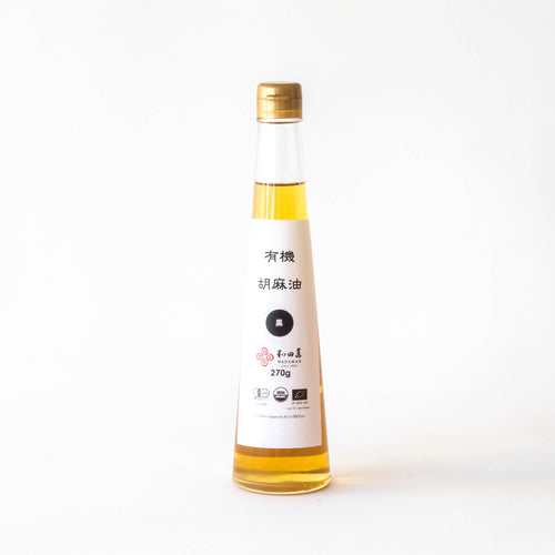 Organic Black Sesame Oil by Wadaman