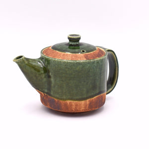 Kushime-Oribe Kittate Tea Pot
