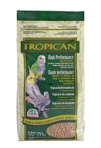 Tropican Lifetime Granules for Cockatiels