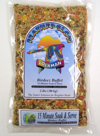 Volkman Birdeez Buffet 15-Minute Soak & Serve 2#
