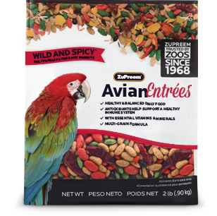 Zupreem Avian Entrees- Wild and Spicy- Large Parrots