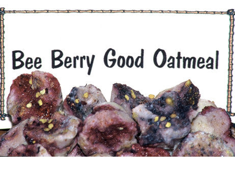 Bee Berry Good Oatmeal