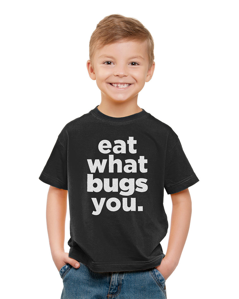 Eat What Bugs You Unisex T-Shirt - Youth