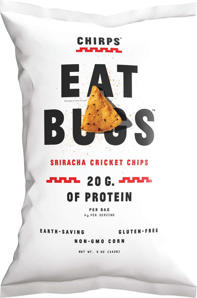 Chirps Cricket Protein Chips Variety Pack