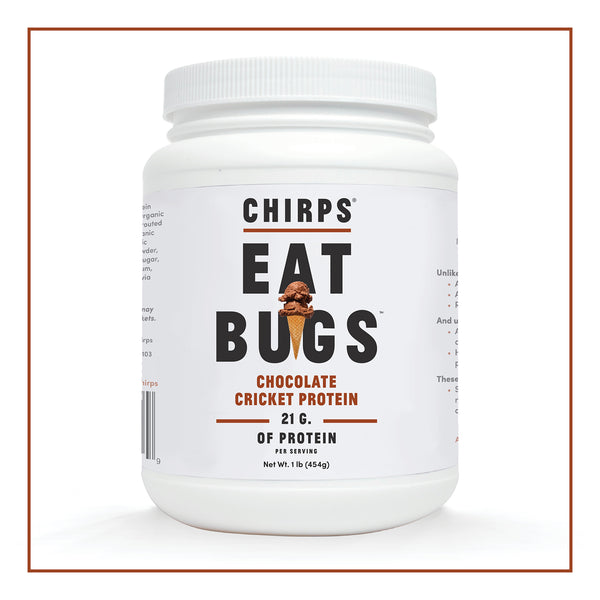 Chirps Cricket Protein Powder