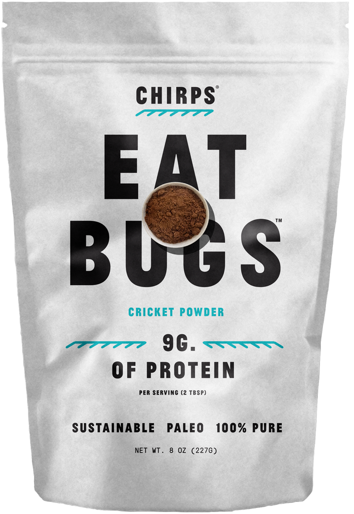 Chirps Cricket Powder 8 oz