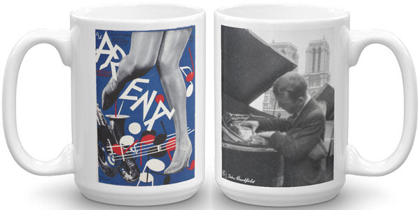 Heartfield Art Mug Arena Jazz Heartfield In Paris - famous political art mug